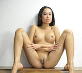 Danika - tight body asian showing her body 9
