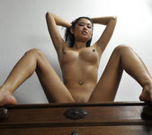 Danika - tight body asian showing her body 12