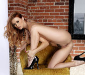 Gorgeous Babe Karlie Montana Strips Down And Masturbates 13