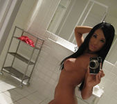 Ashley Bulgari Bathroom Selfies 16