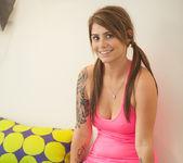 Hailey Leigh - Pink Shirt 6
