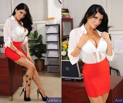 Romi Rain - Naughty Office