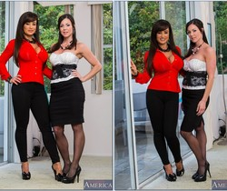 Kendra Lust, Lisa Ann - 2 Chicks Same Time