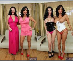 Tara Holiday, Veronica Avluv - 2 Chicks Same Time
