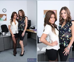 Charmane Star, Kiera Winters - Naughty Office