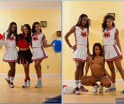 Skin Diamond, Leilani Leeane, Ana Foxxx - 2 Chicks Same Time