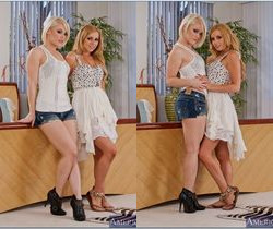 Lexi Belle, Ash Hollywood - 2 Chicks Same Time