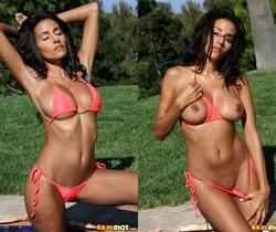 Rita G - Coral String Bikini