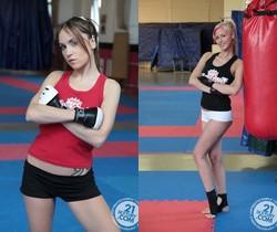 White Angel VS Leyla Black