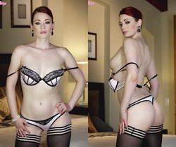 Justine Joli Gets Naked Spreading Her Cunt In Her Room