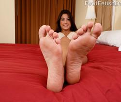 Natalie Monroe - Foot Fetish Daily