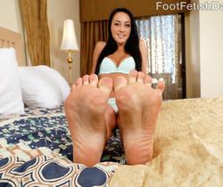 Sabrina Banks - Foot Fetish Daily