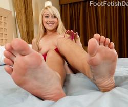 Valerie White - Foot Fetish Daily