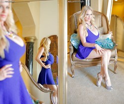 Blue Dress Desire - Kelly Madison