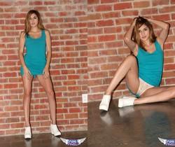 Zoey Violet - Bricks & Pussy - SpunkyAngels