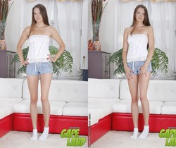 Anal Training of Gabriella Costa - Gapeland