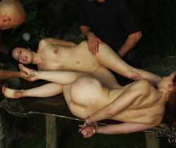 Minnie Manga - The Camp - Paired and handcuffed