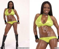 Busty Ebony Slut Jada Fire Shows Her Beautiful Bouncy Booty