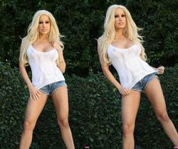Mature Pornstar Gina Lynn - Pinups and Public Nudity
