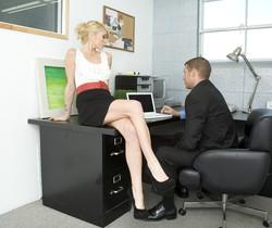 Monique Alexander Shows Office Sluts How it's Done
