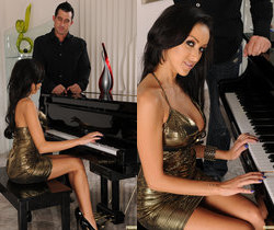 Breanne Benson Gets Another Piano Lesson