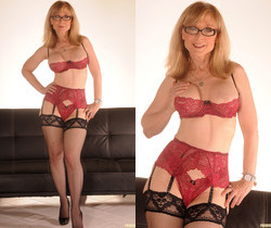 Nina Hartley Shows You Where You Can Stick It