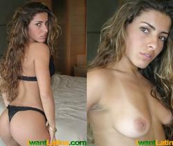 Tamara on the bed