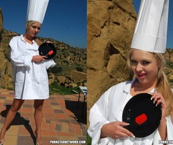 Andi Anderson Gets Served Up A Dish Full Of Creamy Delight