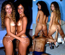 Latin Babes Luana And Mayara Share A Big Dick