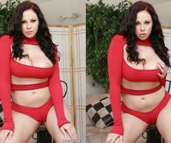 Gianna Michaels Valentine Strip & Blowjob