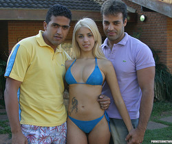 Priscila - Petite Blonde Latina Wants a 2 on 1