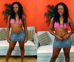 Ms Platinum - Ebony Tease Needs to be Pleased