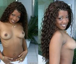 Renata - Ebony Ultra-Cutie Takes Anal