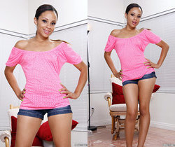 Vanessa Cruz - Petite Latina Gets Drilled