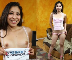 Nicole Ferrera - Playful Latina At My Feet