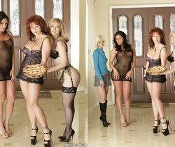 Lola, Kylie Ireland and Nina Hartley in Lingerie