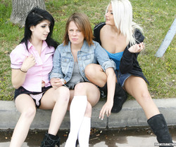 Lexi Rose, Shella Star, and Blondie - The Horny Trinity