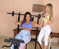 Regininha Gaucha and Suzana Rhios - Fitness Rule One