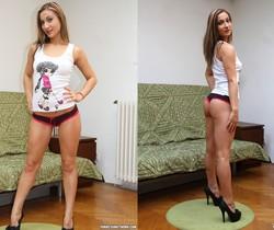 Celine Doll Flaunts Her Sexy Body