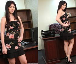 Ashlyn Rae Gets Good and Girly