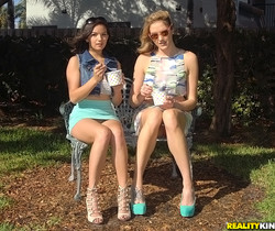 Sabrina Banks & Shae Summers - Lip Locked - We Live Together