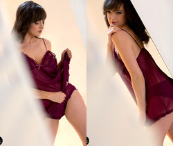 Kate Lingerie Tease - Spinchix