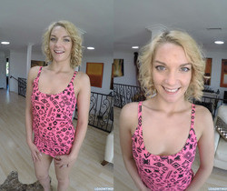 Ally Brooks Brightens Up My Cock with a POV Blowjob