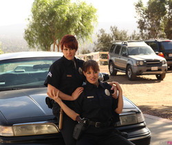 Jessica, Lily, and Missy - Playing Bad Cop, Bad Cop