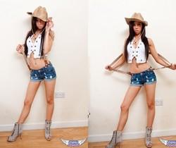 Lexi - Cow Girl - SpunkyAngels