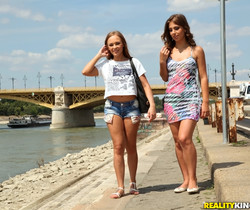 Katarina Muti, Lily G - Tour Guide - Euro Sex Parties