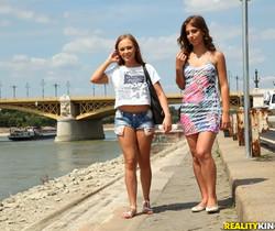 Katarina Muti, Lily G - Tour Guide - Euro Sex Parties
