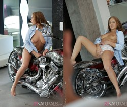Ariel Temple - The Biker's Girl - 21 Erotic Anal