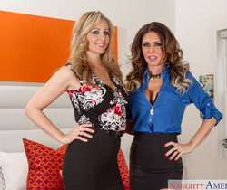 Jessica Jaymes, Julia Ann - Seduced By A Cougar