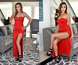 Karter Foxx - Lady in Red - Footsie Babes